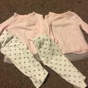 Two piece caters girl outfit